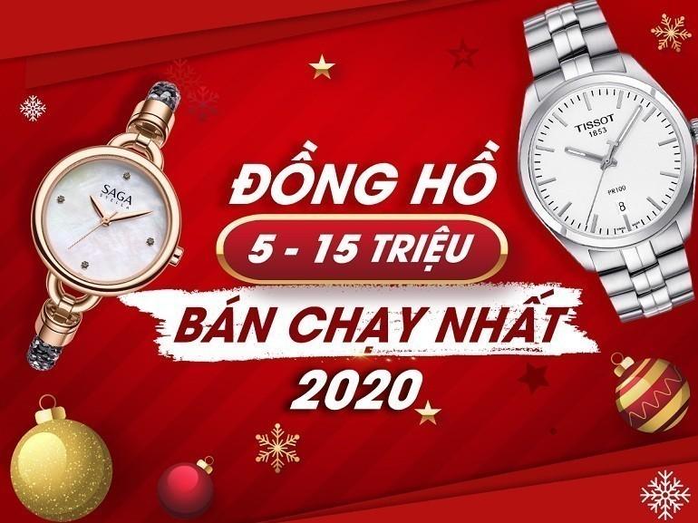 20 mau dong ho tu 5 den 15 trieu ban chay nhat nam 2020