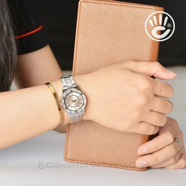 Casio LTP-1358D-4AVDF là sự lựa chọn hoàn hảo cho các cô nàng theo đuổi phong cách nhẹ nhàng, nữ tính - Ảnh: 5