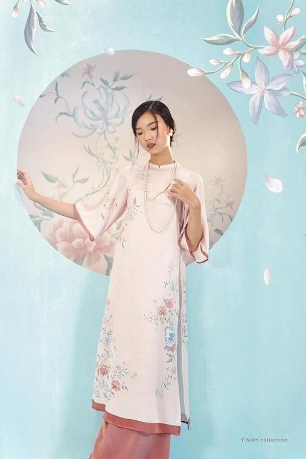 Áo dài Tết nữ đẹp mua ở đây tại Sài Gòn - Ảnh: 18