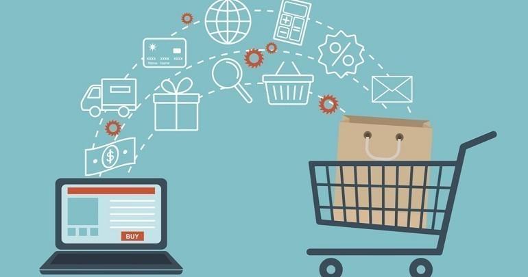 Thương mại điện tử là tên gọi chung cho tất cả, một hoặc một số hoạt động thương mại - Ảnh