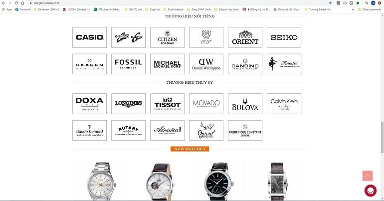 Đồng Hồ Hải Triều là một trong những thương hiệu hàng đầu Việt Nam về lĩnh vực phân phối và bán lẻ đồng hồ - Ảnh