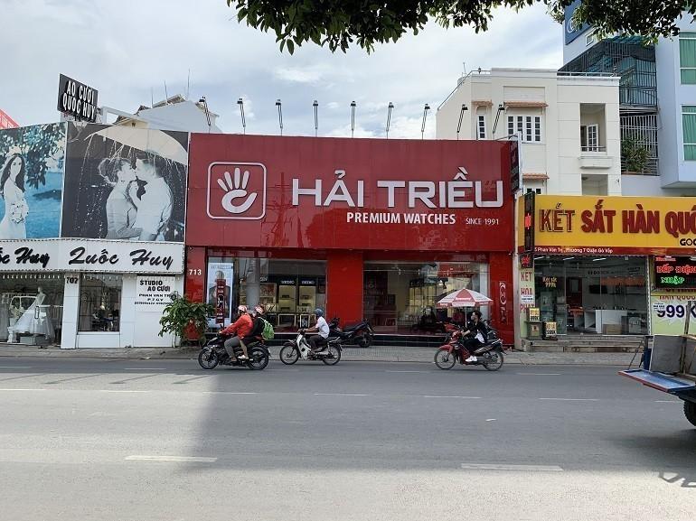 Đồng Hồ Hải Triều là điểm đến quen thuộc của các tín đồ đam mê đồng hồ tại Việt Nam - Ảnh