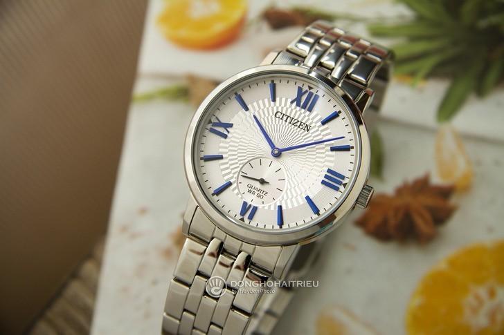 Đồng hồ Citizen BE9170-72A: Ấn tượng với thiết kế kim xanh - Ảnh 1