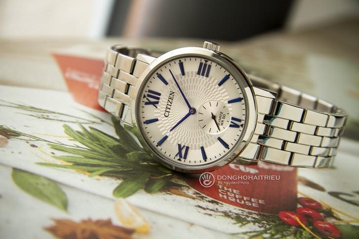 Đồng hồ Citizen BE9170-72A: Ấn tượng với thiết kế kim xanh - Ảnh 3