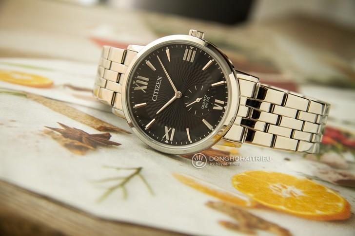 Đồng hồ Citizen BE9170-72E: Mê hoặc với nền mặt số độc đáo - Ảnh 2