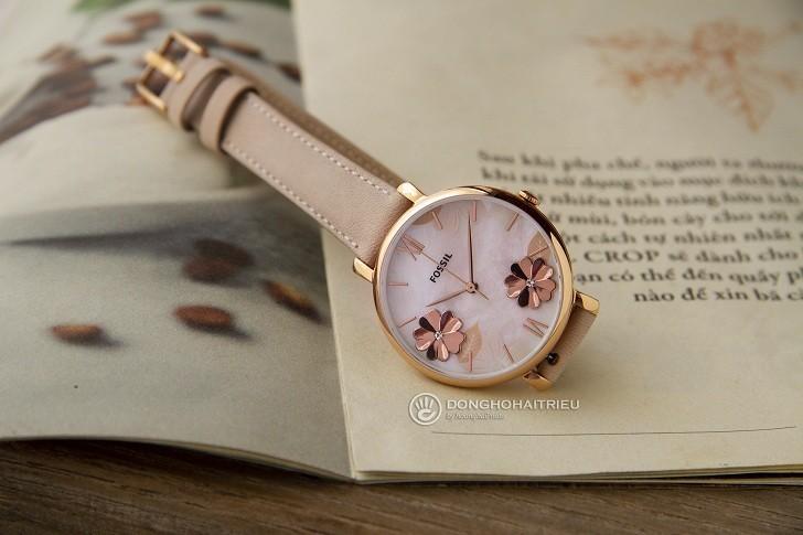 Đồng hồ Fossil ES4671 tông hồng nữ tính cho các cô nàng - Ảnh 2