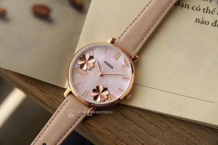 Đồng hồ Fossil ES4671 tông hồng nữ tính cho các cô nàng - Ảnh 3