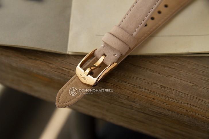 Đồng hồ Fossil ES4671 tông hồng nữ tính cho các cô nàng - Ảnh 5