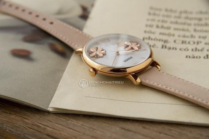 Đồng hồ Fossil ES4671 tông hồng nữ tính cho các cô nàng - Ảnh 6