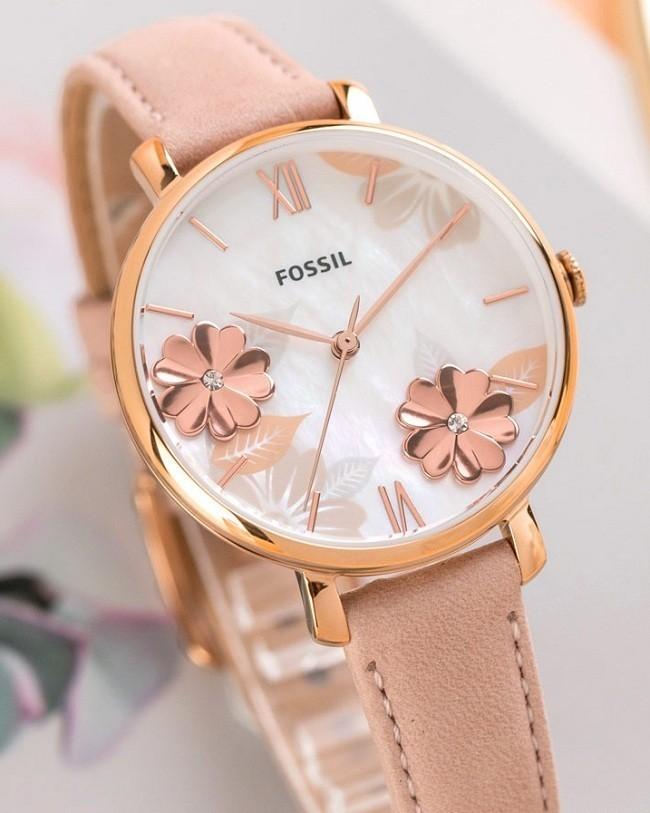 Đồng hồ Fossil ES4671 tông hồng nữ tính cho các cô nàng - Ảnh 7