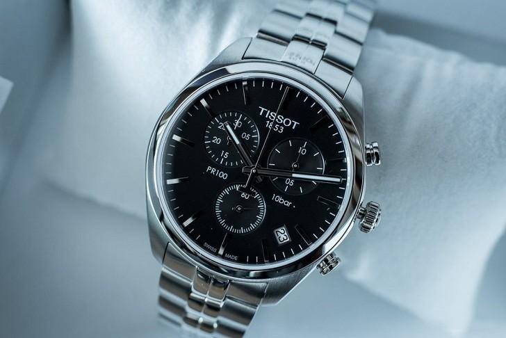 Đồng hồ Tissot T101.417.11.051.00 tính năng chronograph - Ảnh 1