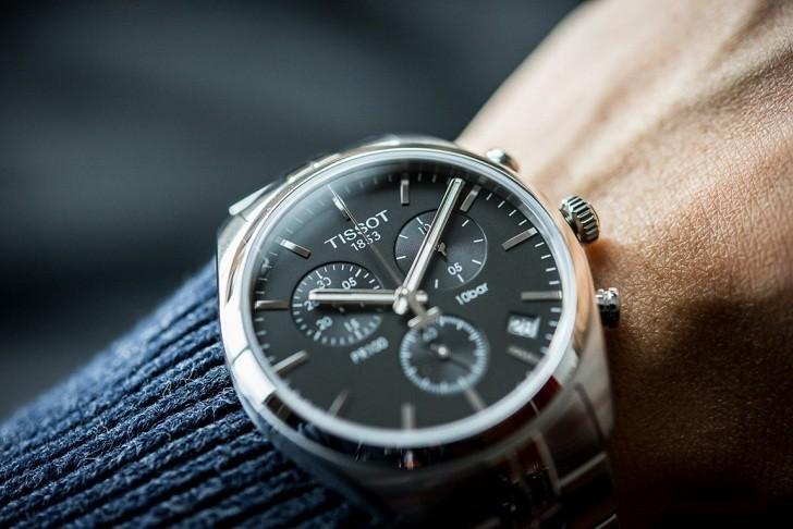 Đồng hồ Tissot T101.417.11.051.00 tính năng chronograph - Ảnh 2