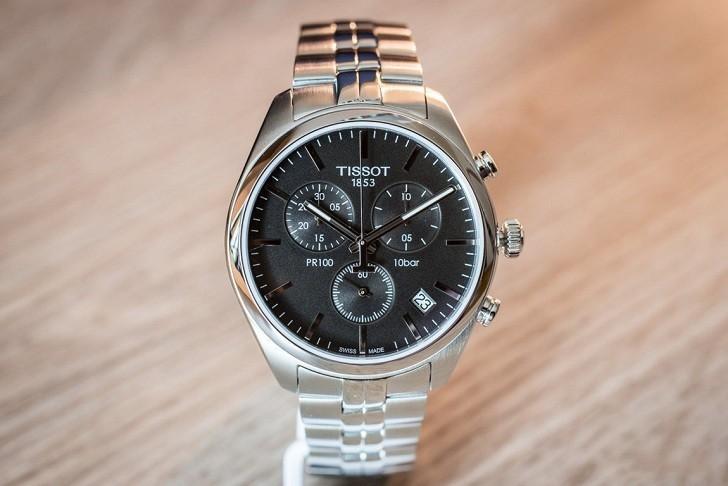 Đồng hồ Tissot T101.417.11.051.00 tính năng chronograph - Ảnh 3
