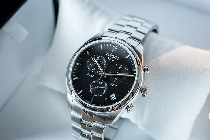 Đồng hồ Tissot T101.417.11.051.00 tính năng chronograph - Ảnh 4
