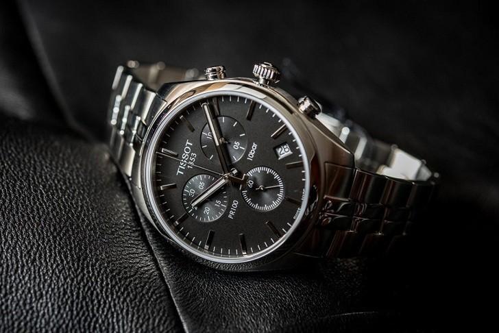 Đồng hồ Tissot T101.417.11.051.00 tính năng chronograph - Ảnh 7
