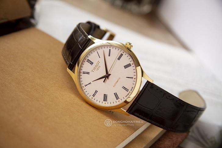 Đồng hồ Tissot T926.407.16.263.00 vỏ vàng nguyên khối 18k - Ảnh 6