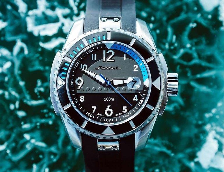 Đồng hồ Nga thương hiệu Molnija- Ảnh 5