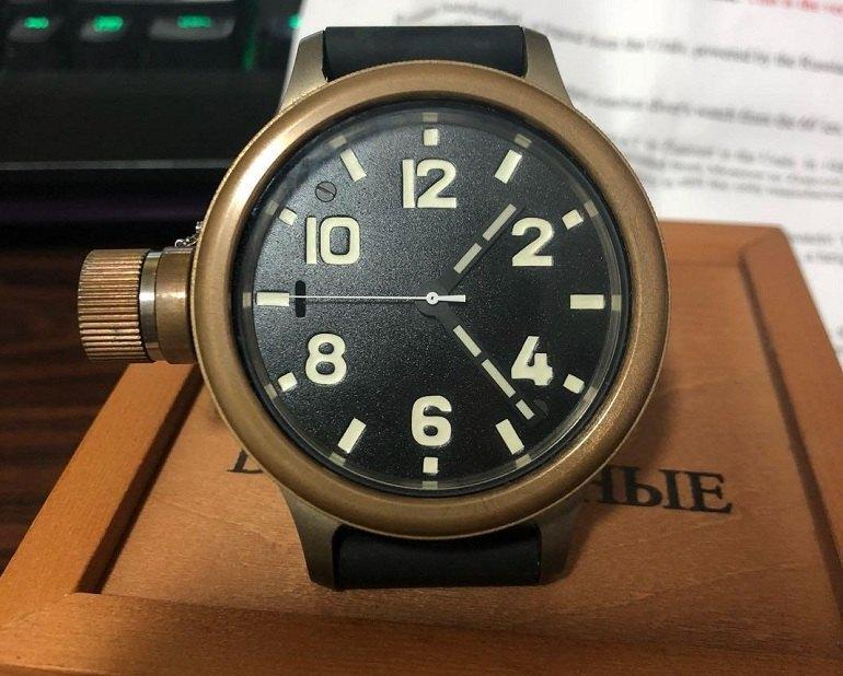Đồng hồ Nga thương hiệu Zlatoust - Ảnh 6