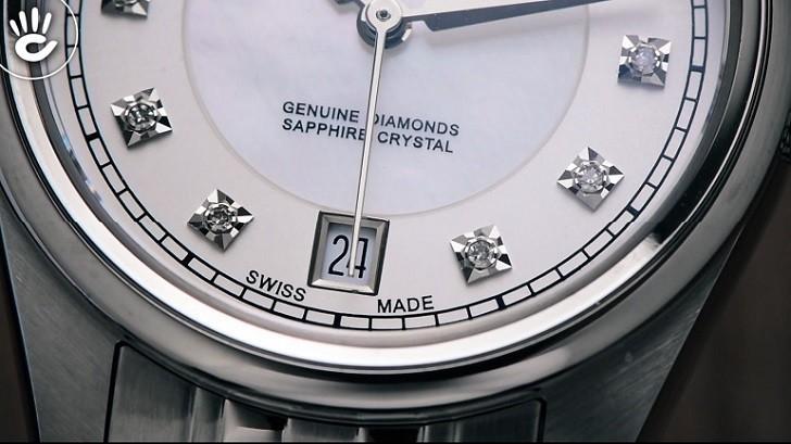 Đồng hồ Doxa D150SWH và giá trị đến từ 11 viên kim cương - Ảnh: 3