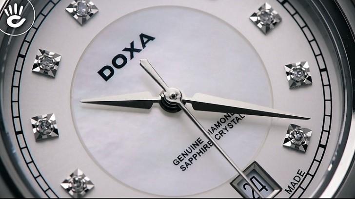 Đồng hồ Doxa D150SWH và giá trị đến từ 11 viên kim cương - Ảnh: 2