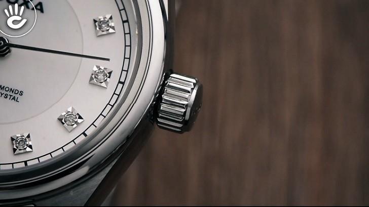 Đồng hồ Doxa D150SWH và giá trị đến từ 11 viên kim cương - Ảnh: 4