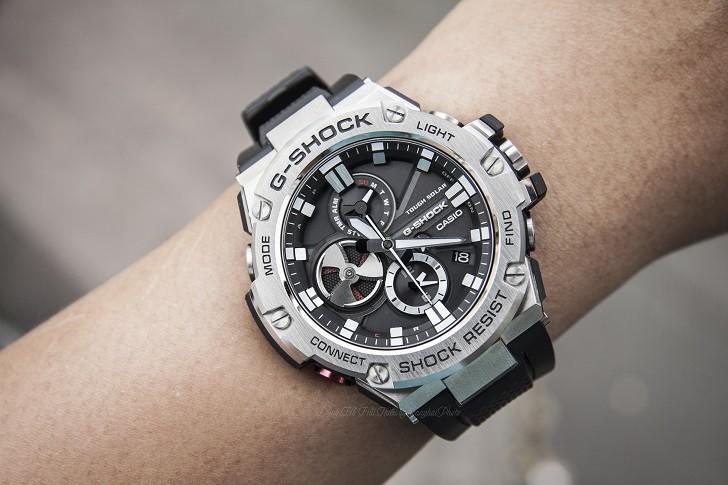 G-Shock GST-B100-1ADR và hình ảnh mặt số - Ảnh 1