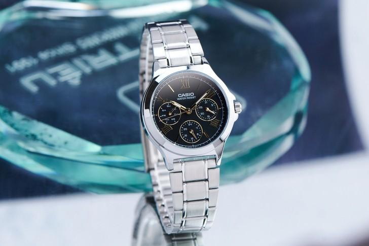 Đồng hồ Casio LTP-V300D-1A2UDF giá rẻ, thay pin miễn phí - Ảnh 1