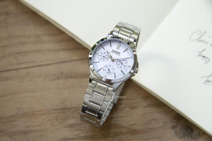 Đồng hồ Casio LTP-V300D-2AUDF giá rẻ, thay pin miễn phí - Ảnh 2