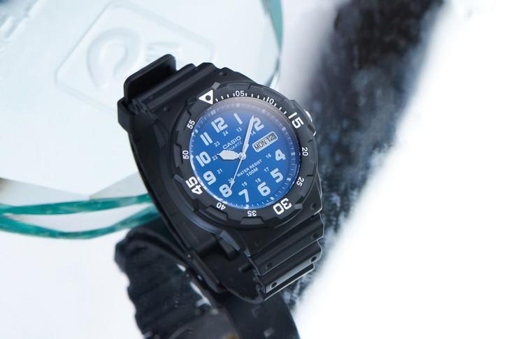 Đồng hồ Casio MRW-200H-2B2VDF giá rẻ, thay pin miễn phí - Ảnh 3