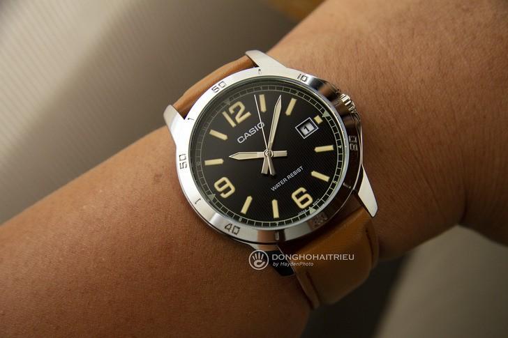 Đồng hồ Casio MTP-V004L-1B2UDF giá rẻ, miễn phí thay pin - Ảnh 4