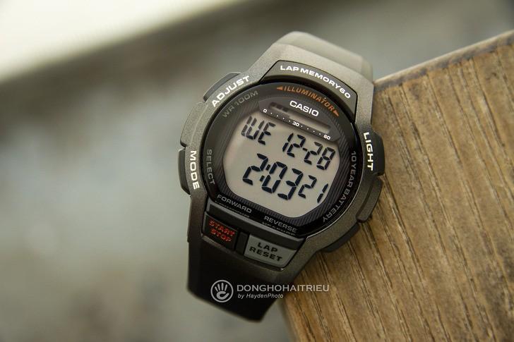 Đồng hồ Casio WS-1000H-1AVDF giá rẻ, thay pin miễn phí - Ảnh 1