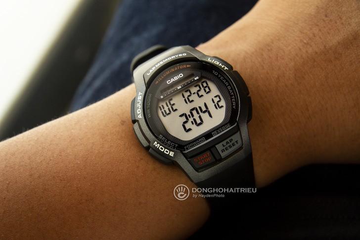 Đồng hồ Casio WS-1000H-1AVDF giá rẻ, thay pin miễn phí - Ảnh 2