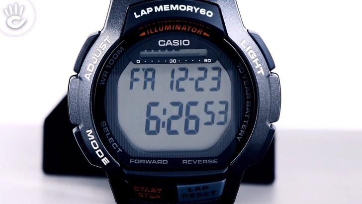Đồng hồ Casio WS-1000H-1AVDF giá rẻ, thay pin miễn phí - Ảnh 3