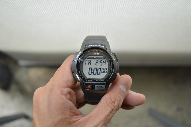 Đồng hồ Casio WS-1000H-1AVDF giá rẻ, thay pin miễn phí - Ảnh 8