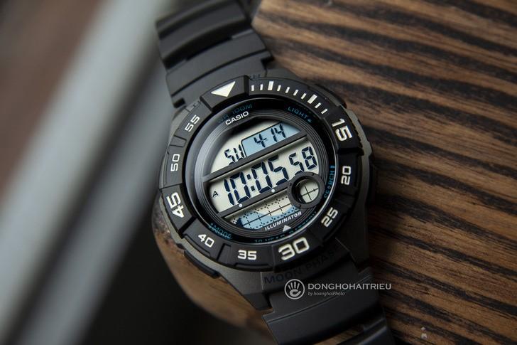 Đồng hồ Casio WS-1100H-1AVDF giá rẻ và thay pin miễn phí - Ảnh 1