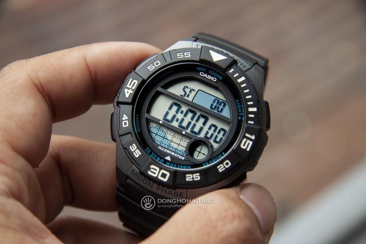 Đồng hồ Casio WS-1100H-1AVDF giá rẻ và thay pin miễn phí - Ảnh 2