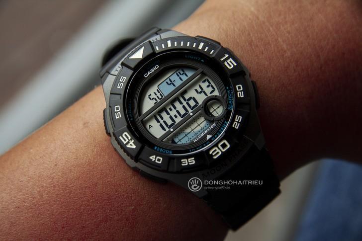 Đồng hồ Casio WS-1100H-1AVDF giá rẻ và thay pin miễn phí - Ảnh 3