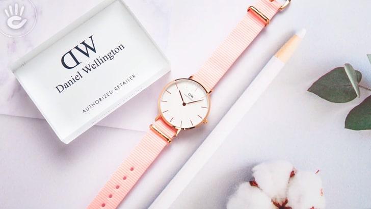 Đồng hồ Daniel Wellington DW00100317 thay pin miễn phí - Ảnh 1