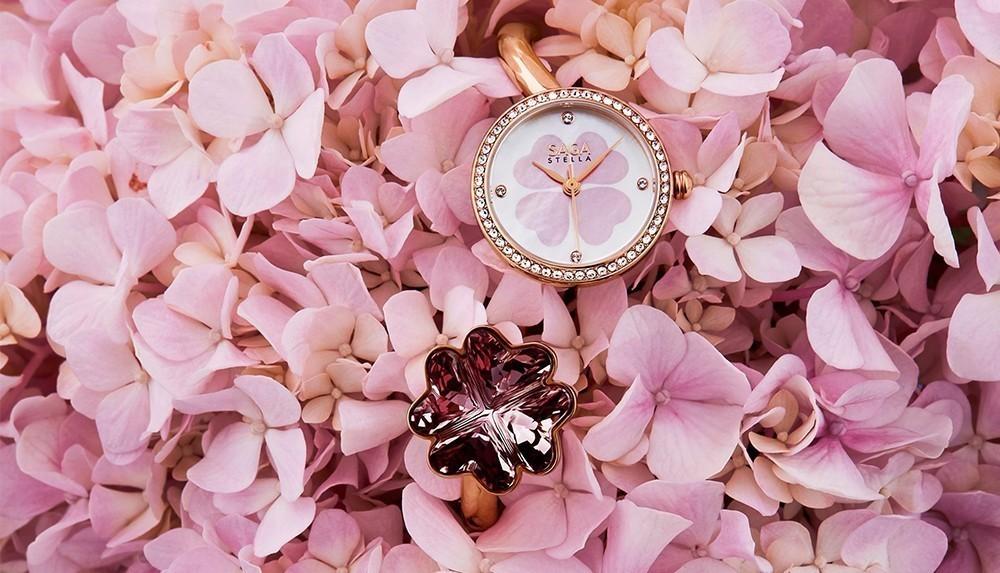 30 mẫu đồng hồ Swarovski ® nữ đẹp như đính kim cương thật - Ảnh
