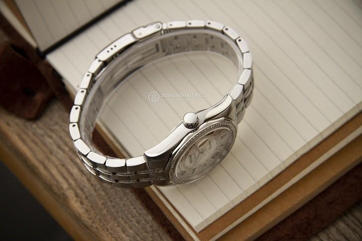 Đồng hồ Doxa D105SMW Thụy Sỹ, đính 258 viên kim cương thật - Ảnh: 4
