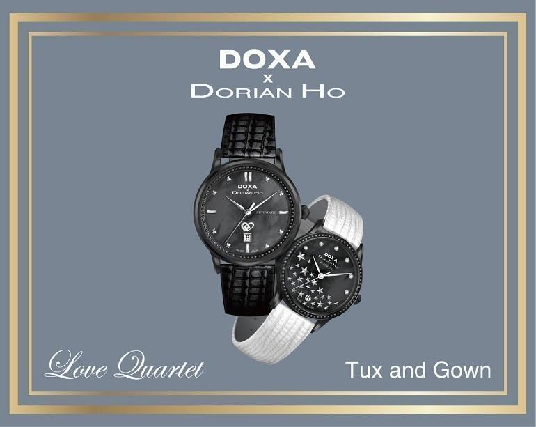 Doxa x Dorian Ho, bộ sưu tập mang dấu ấn sang trọng và tầm cỡ - Ảnh: 1