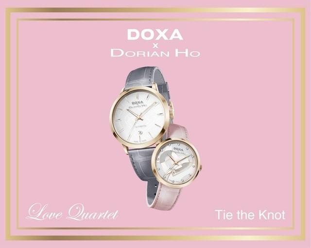 Doxa x Dorian Ho, bộ sưu tập mang dấu ấn sang trọng và tầm cỡ - Ảnh: 7