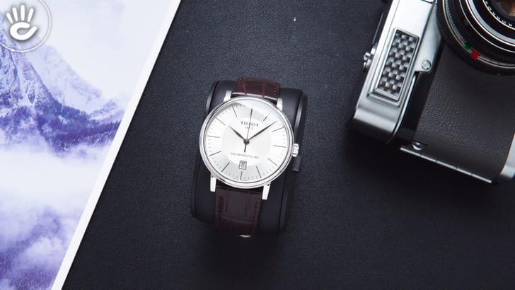 Đồng hồ Tissot T122.407.16.031.00 trữ cót gấp đôi 80 giờ - Ảnh 1