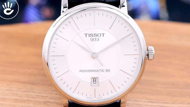 Đồng hồ Tissot T122.407.16.031.00 trữ cót gấp đôi 80 giờ - Ảnh 2