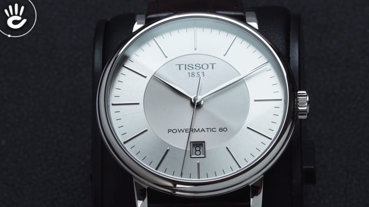 Đồng hồ Tissot T122.407.16.031.00 trữ cót gấp đôi 80 giờ - Ảnh 3