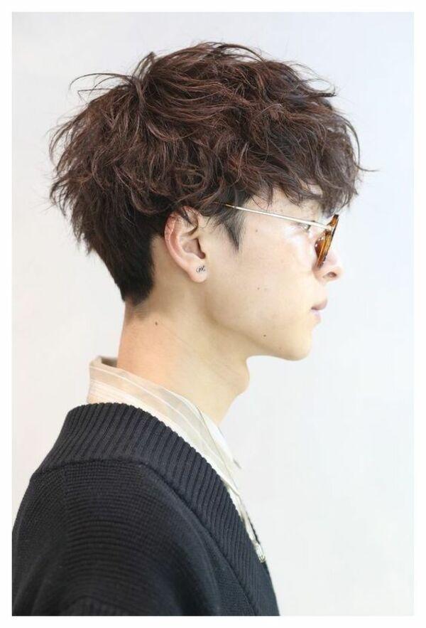 Kiểu tóc layer xoăn nam - Ảnh: 15