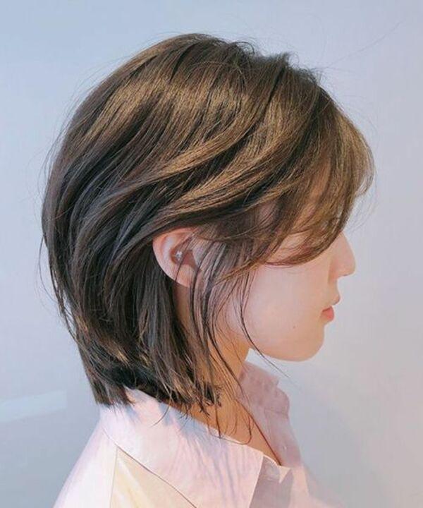 Tóc layer dành cho tóc ngắn - Ảnh: 3