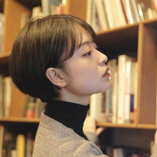 Tóc tém Hàn Quốc - Ảnh: 18