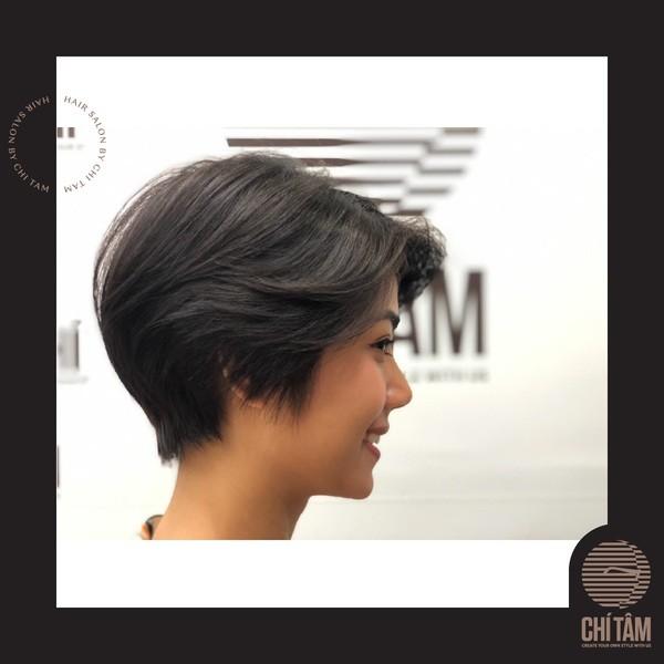 Tóc tém hợp khuôn mặt nào? 10 địa chỉ cắt tóc tém đẹp nhất - Ảnh: 21