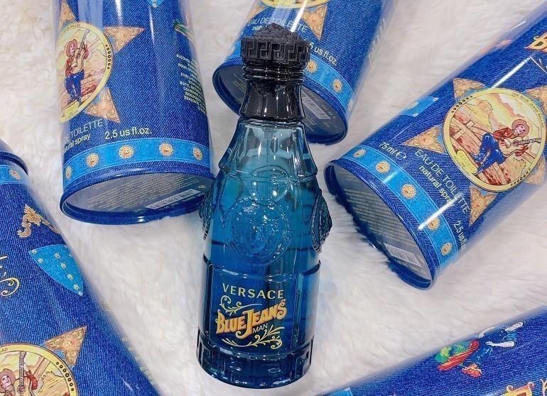Nước hoa Versace nam Versace Blue Jeans - Ảnh 10